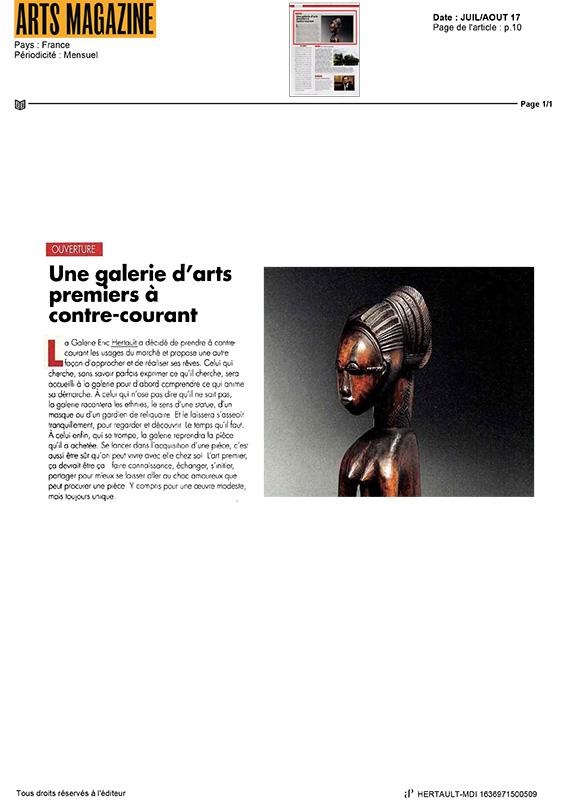 arts magazine juillet_aout 2017